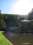 SX09676 Sunlit dock at Llanfoist, Monmouthshire and Brecon Canal.jpg